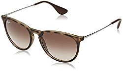 Ray Ban Erika Women's Wayfarer Sunglasses,Rubber Havana,54mm