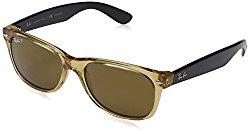 Ray-Ban Sunglasses – RB2132 Wayfarer / Frame: Honey Lens: Crystal Brown Polarized (55mm)