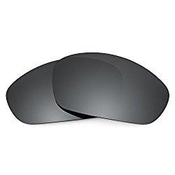 Revant Lenses for Oakley Straight Jacket (2007) Polarized Black Chrome