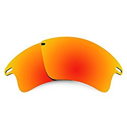Revant Replacement Lenses for Oakley Fast Jacket XL Fire Red MirrorShield
