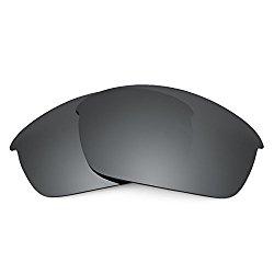 Revant Replacement Lenses for Oakley Flak Jacket Black Chrome MirrorShield