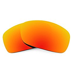 Revant Replacement Lenses for Oakley Hijinx Polarized Fire Red MirrorShield