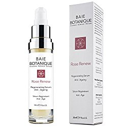 Best Anti Aging Face Serum – 15% Botanical Hyaluronic Acid – Best Anti Aging Serum for Wrinkles, Fine Lines. 2 in 1 Serum & Toner – Hydrate & Brighten your complexion. Rosewater, Rose Absolute, Rosehip Seed Oil, Glycolic Acid. 80% Organic. 98% Natural