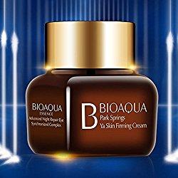 BIOAQUA Night Repair Delicate Skin Around Eyes Crystal Firming Tightening Cream