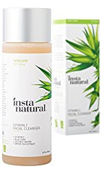 InstaNatural Vitamin C Facial Cleanser – Anti Aging, Breakout & Wrinkle Reducing Face Wash for Clear & Reduced Pores – With Organic & Natural Ingredients – For Oily, Dry & Sensitive Skin – 6.7 OZ