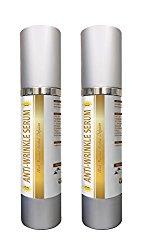 Serum wrinkle – ANTI-WRINKLE SERUM – Beauty skin care products – 2 Bottles