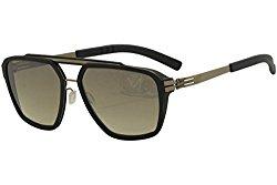 Ic! Berlin Men's Dystopia PH0006H71030P084 Blue/Bronze Square Sunglasses 55mm