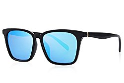 MERRY'S Men Polarized Sunglasses for Women Fashion Sun glasses UV Protection S8219 (Blue, 54)