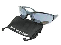 Style SR20 Big Frame Sports Sunglasses (Flat Teal-Gray Lenses, 3)