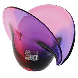 GlassOfVenice Murano Glass Clam Seashell Bowl – Rose and Blue