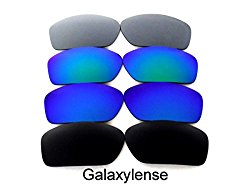 Galaxy Replacement Lenses For Oakley Valve Black/Blue/Green/Titanium Polarized