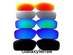 Galaxy Replacement Lenses For Oakley Valve Black/Blue/Green/Titanium/Red Polarized
