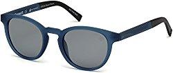 Sunglasses Timberland TB 9128 91D matte blue / smoke polarized
