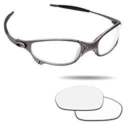 Fiskr Anti-saltwater Polarized Replacement Lenses for Oakley Juliet Sunglasses – Various Colors