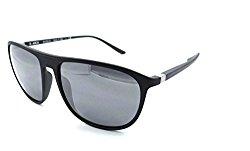 Starck Eyes Mikli Sunglasses SH5010 0001/Z3 57×16 Matte Black – Silver Polarized