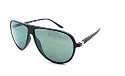 Starck Mikli Biosun Sunglasses SH5011 0001/6R 60×10 Matte Black – Green Mirror