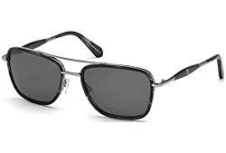 Roberto Cavalli Women's RC1023 RC/1023 20A Grey/Silver Pilot Sunglasses 57mm