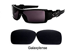 Galaxy Replacement Lenses For Oakley Oil Drum Sunglasses Black Polarized
