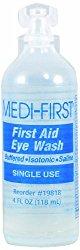 Medi-First 19818 Medi Wash Eye Wash, 4 Ounces