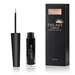 Belle Diary Eyelash Eyebrow Growth Serum ,Best Enhancer for Eyelash Growing ,Thickening and Strengthening Eyelash,Irritation-free Formula – 3ml