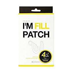 KARATICA I'M FILL PATCH, for wrinkles and fine lines, Hyaluronic acid, Micro-needle Patch, Dark Circle Puffiness, Moisturizing, 5 pairs
