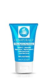 OZNaturals Eye Cream For Wrinkles – Anti Aging Treatment For Dark Circles & Puffiness – The ONLY Eye Moisturizing Cream With Astaxanthin, Matrixyl Synthe'6 & Caffeine For Ultra Ageless Eyes