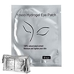100 Pairs Set,Under Eye Pads, Lint Free Lash Extension Eye Gel Patches for Eyelash Extension Eye Mask Beauty Tool