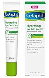 Cetaphil Hydrating Eye Gel-Cream With Hyaluronic Acid – Designed to Deeply Hydrate, Brighten & Smooth Under-Eye Area – For All Skin Types – Hypoallergenic & Suitable for Sensitive Skin – 0.5 Fl. Oz