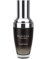 Madlena Advanced Anti-Aging Face & Neck Serum for Women – Powerful Anti-Wrinkle Beauty Care – Fade Lines, Repair Blemishes, Restore Skin Tone and Boost Cell Regeneration