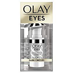 Olay Eyes Illuminating Eye Cream to Help Reduce the look of Dark Circles Under Eyes, 0.5 Fl Oz Packaging may Vary