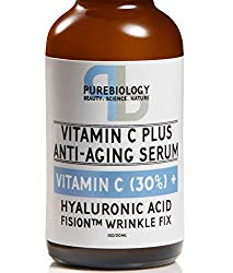"""""""C+ Plus"""" Highest Concentrate 30% Vitamin C Serum with Hyaluronic Acid, Vitamin E and Breakthrough Aging Complex – Complete Anti Aging Serum For Face & eyes (1 oz.)"""