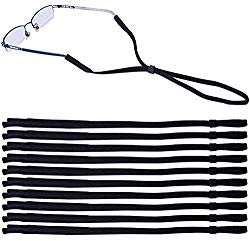 Leyaron 10 Pack Universal Eyewear Retainer Sports Sunglass Holder Straps, Safety Glasses Eyeglasses Neck Cord String Lanyard Strap