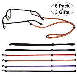 SUKKI Glasses Strap Holder – Eyeglass String Retainer Cord – Glasses Lanyard Chain Necklace