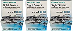 Bausch and Lomb Sight Savers Pre-Moistened Lens Cleaning Tissues, 300 Count