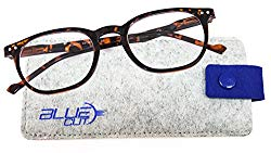 Blue Light Blocking Round Glasses – Anti-Fatigue Computer Glasses Prevent Headaches Gamer Glasses