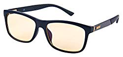 Lumin Driving Glasses Shift – Improve Road Safety with Outdoor Night Vision Lenses – UVA and UVB Protection – Reduce Eye Strain & Headaches – Unisex Wayfarer Style