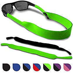 Sunglasses and Glasses Safety Strap – 2 Pack | Anti-Slip and Fast Drying Sport Glasses Strap (Green + Black)