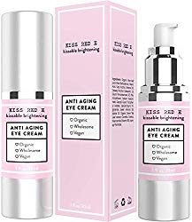 Anti Aging Eye Cream for Dark Circles, Eye Bags, Fine Lines, Puffiness. Best Anti Aging Eye Cream Moisturizer for Wrinkles, Crows feet, Puffy Eyes