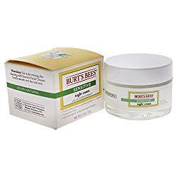 Burt's Bees Night Cream for Sensitive Skin, 1.8 Ounces