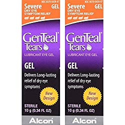 GenTeal Lubricant Eye Gel, Severe, 2 Pack, 0.34-Ounces each