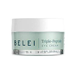 Belei Triple-Peptide Eye Cream, Fragrance Free, Paraben Free, 0.5 Fluid Ounce (15 mL)