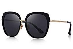 OLIEYE Vintage Oversized Women's Polarized shield Frame Sunglasses O6371