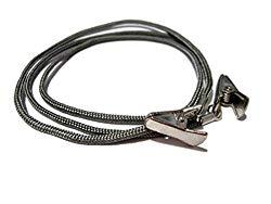 ATLanyards Gray Paracord Eyeglass Holder Cord, Clip Eyeglass, Holder for Glasses, Clip 344