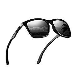 Polarized Sunglasses for Men Aluminum Mens Sunglasses Driving Rectangular Sun Glasses For Men/Women.