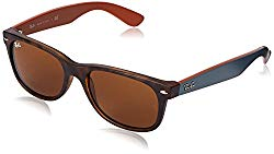 Ray-Ban New Wayfarer Square, Brown, 55mm