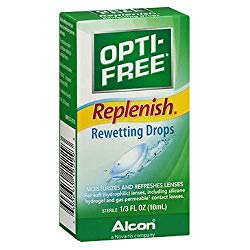 OPTI-FREE Replenish Rewetting Drops 10 mL ( Packs of 3)