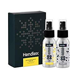 Mirror Anti Fog Spray Hendlex Nano Coating Anti Mist for Glass & Plastic Treatment Fogless Resistant Spray for Bathroom Shower Doors (Gift Pack/Limited Edition)