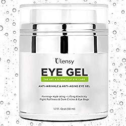 Ulensy Eye Gel Cream, Eye Gel Cream for Dark Circles, the Best Anti-Aging Eye Gel Cream for Eye Care