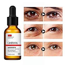 Angmile Caffeine Eye Serum Reduce Puffy Eyes, Dark Circles, Fine Lines, Wrinkles for Under and Around Eyes
