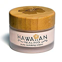 Hawaiian Healing Skin Care Anti-Aging & Hydrating Face Cream with Organic Hawaiian Macadamia Flower Honey and Hawaiian Astaxanthin to Reduce Appearance of Wrinkles & Fine Lines (50g)